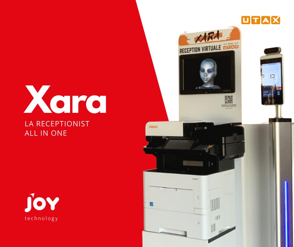 XARA, la receptionist all in one del futuro.